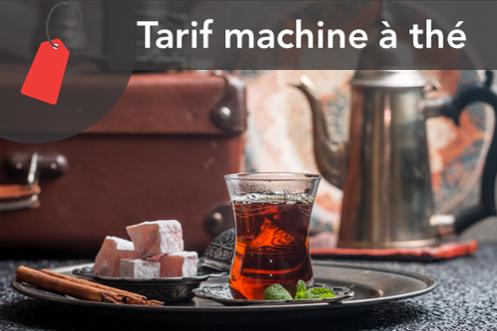 Prix machine à thé